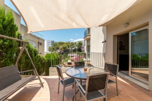 Beeindruckende, hochwertige Duplex-Wohnung mit Spa und Innenpool in der Nähe des Strandes von Cala Mayor