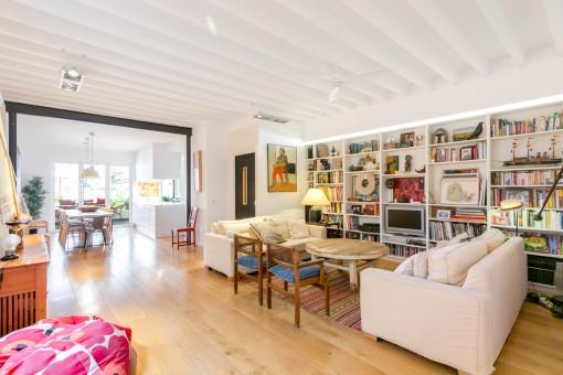 Wunderschöne, geräumige Wohnung im historischen Zentrum von Palma
