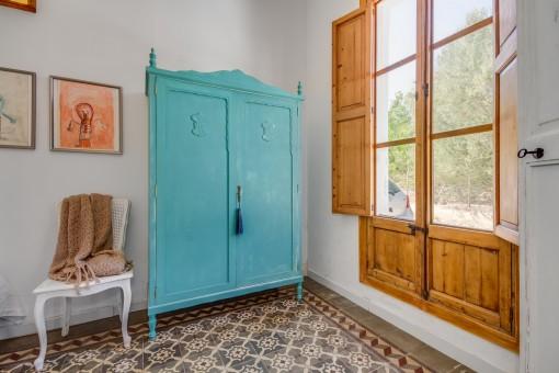 Räume mit mallorquinischem Fliesenboden