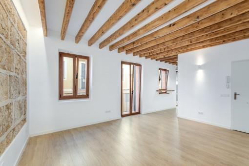 Moderne und helle Wohnung im historischen Zentrum von Palma