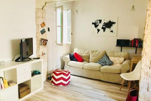 Gemütlich-elegante Wohnung mit Balkon in ruhiger Lage in Palmas beliebtem Viertel Santa Catalina
