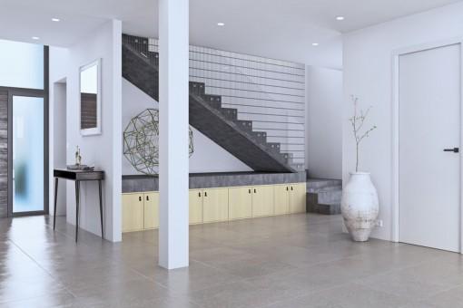 Attraktiver Eingangsbereich