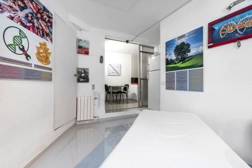 Schlafzimmer auf der oberen Ebene