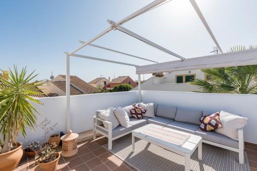 Bezauberndes, ruhig gelegenes Feriendomizil mit einer gemütlichen Dachterrasse in Cala Murada