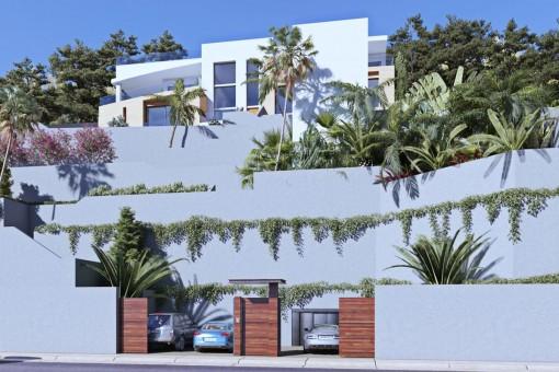 Spektakuläre Luxusvilla mit traumhaftem Blick auf Son Vida