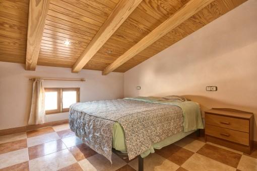 Schlafzimmer auf der obersten Etage