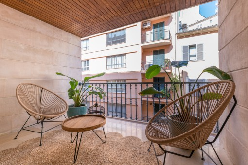 Außergewöhnlich stilvoll sanierte Traumwohnung im Zentrum von Palma