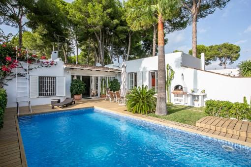 Freistehendes Haus in bester Lage in Sol de Mallorca, in der Nähe von Palma