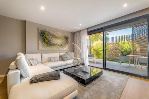 Penthouse Wohnung in einer Neubauanlage im Grünen, direkt am Golfplatz, nahe Son Vida