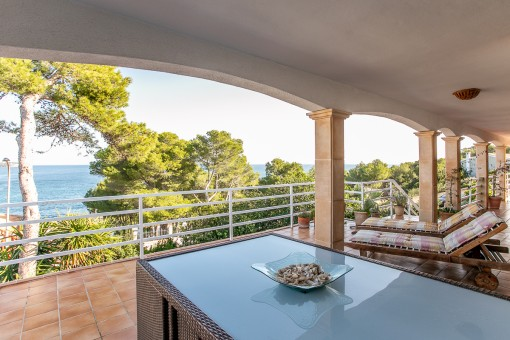 Haus mit Pool und spektakulärem Meerblick in einer der besten Gegenden des Nordostens in Font de sa Cala