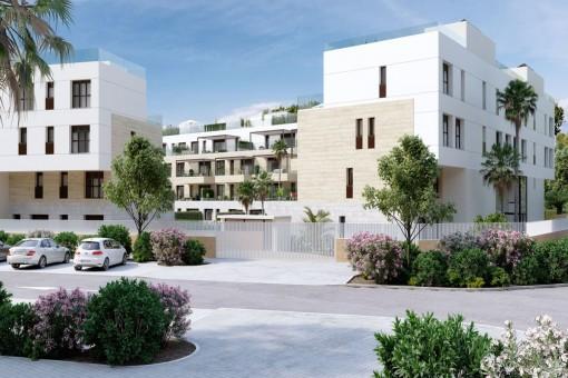 Neubau-Wohnungen in bester Lage in Santa Ponsa