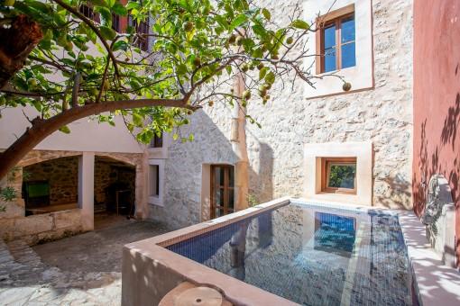 Verträumtes Dorfhaus in Selva mit Ferienvermietlizenz