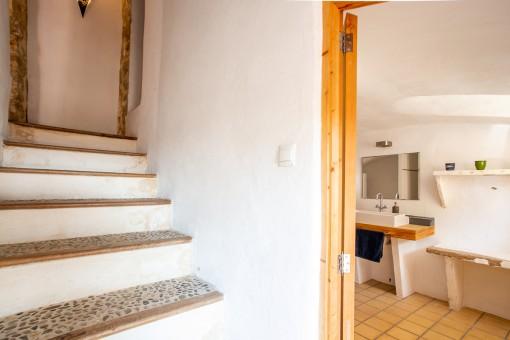 Treppenabgang zur Waschküche