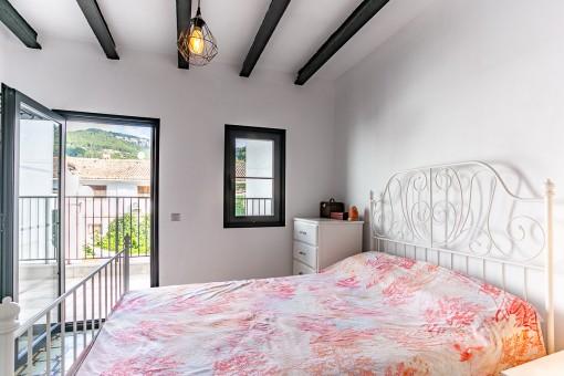 Schlafzimmer mit eigener Terrasse