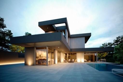 Grundstück mit Lifestyle Villa Projekt