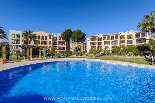 Atemberaubende Wohnung in einer exklusiven Anlage in Santa Ponsa