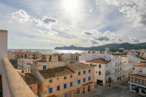 Praktische Wohnung im Hafengebiet mit 3 Schlafzimmern, 2 Badezimmern und Abstellraum in Cala Ratjada