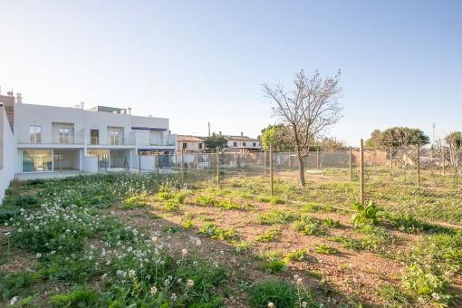 Neues hochwertiges Stadthaus in Consell mit Pool, Garage und Blick auf die Tramuntana