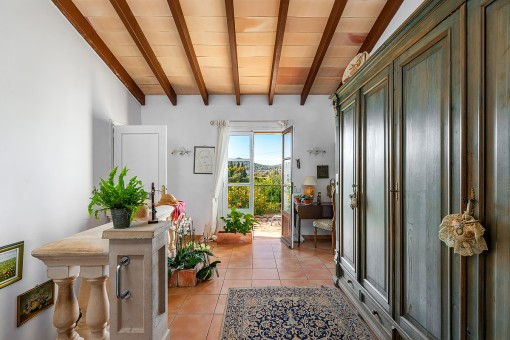 Obergeschoss mit Terrassenzugang