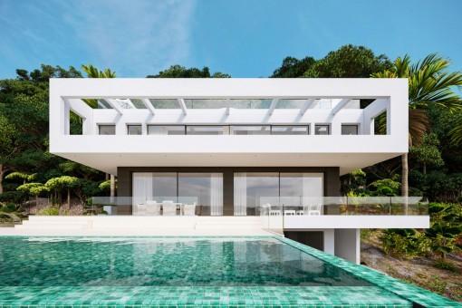 Exklusive Neubauvilla in Bestlage von Son Vida