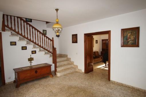 Typischer Eingangsbereich