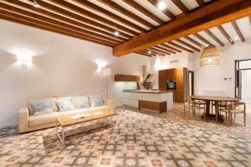 Außergewöhnlich geschmackvoll sanierte Stadtwohnung in Palma