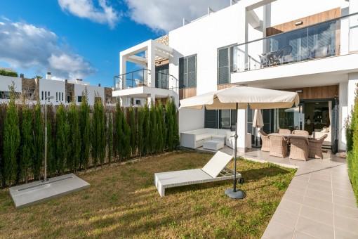 Fantastische Erdgeschosswohnung mit schönem Garten zum Wohlfühlen in Cala Murada - kaufen