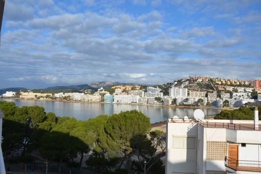 Wohnung im Herzen von Santa Ponsa mit Zugang zum Hauptstrand