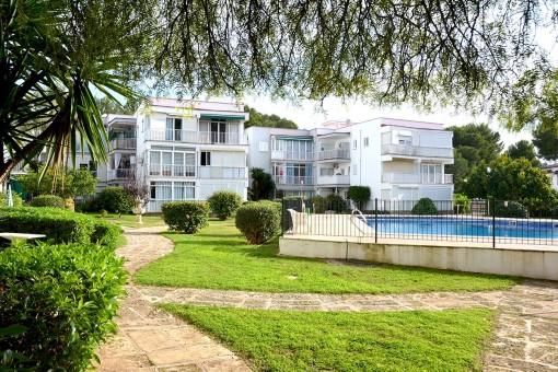 Perfekte, ruhig gelegene Wohnung in Santa Ponsa