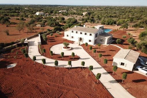 Erstklassiges Anwesen mit Meerblick in Traumlage von Santanyí