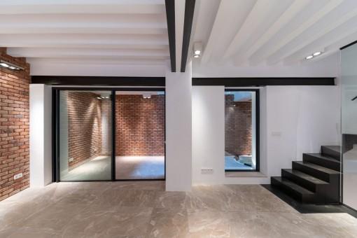Wunderschöne Duplexwohnung in ruhiger Altstadtlage von Palma zum Erstbezug