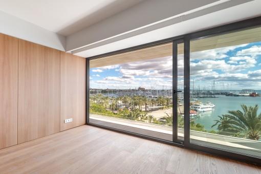 Zentral gelegene Wohnung mit fantastischem Blick direkt am Paseo Maritimo