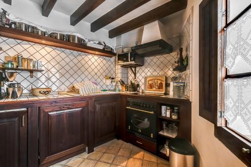 Authentische Landhausküche