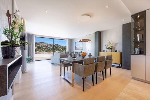 Neubau-Penthouse mit luxuriöser Ausstattung in Port Andratx