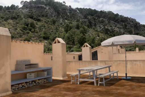 Erstbezug nach Renovierung, Wohnung mit schöner Dachterrasse in Caimari