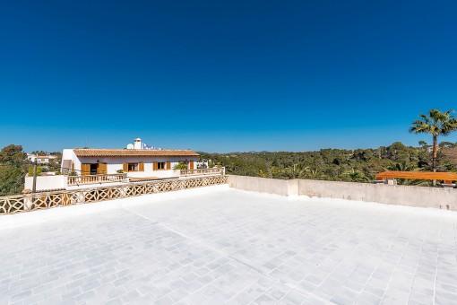 Dachterrasse mit Weitblick