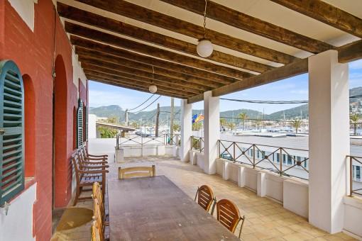Charmante, mallorquinische Villa mit Hafenblick in Puerto Andratx