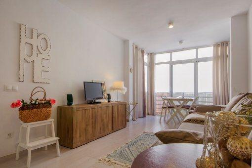 Möbliertes Apartment zentral gelegen an Pto. Andratx´s Hafenpromenade
