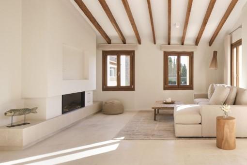 Neubau-Luxuswohnung mit Terrasse und hochwertiger Ausstattung im Zentrum von Santa María
