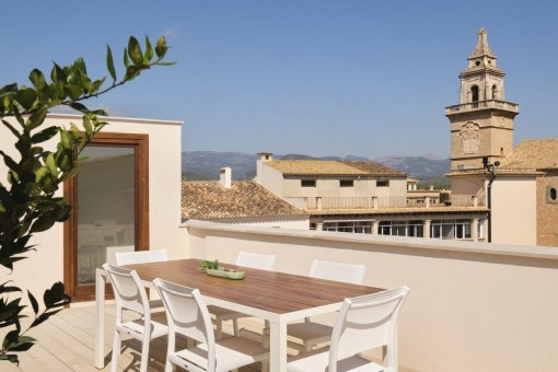 Große Neubau-Penthouse-Luxuswohnung, hochwertig ausgestattet und möbliert zum Erstbezug in Santa María