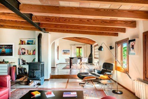 Möbliertes Penthouse-Apartment mit Blick über die Bucht von Palma, Garagenstellplatz und Gemeinschaftspool