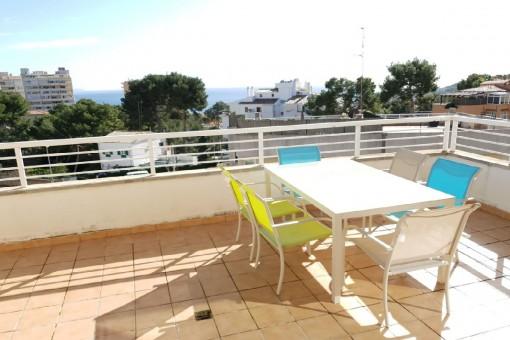 Tolle Wohnung in optimaler Lage mit eigener Terrasse in San Augustin