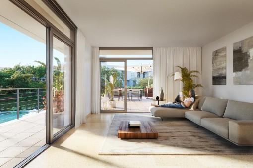 Attraktive Neubau-Wohnung in Palmanova