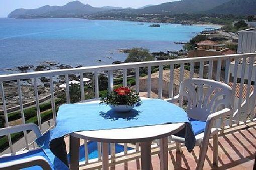 Wunderbare Wohnung mit Panoramablick im Herzen von Cala Ratjada