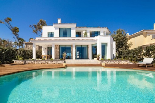 Traumhafte Luxusvilla mit Panoramablick in Santa Ponsa