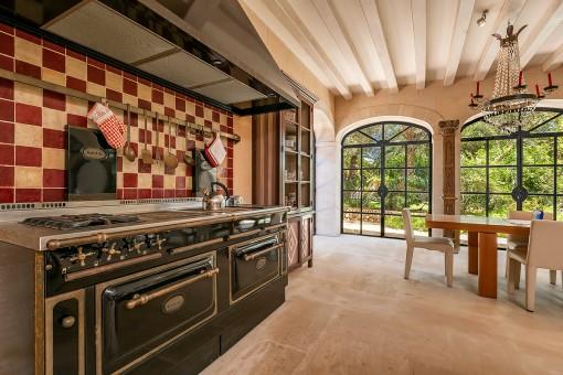 Wundervolle Küche im mallorquinischen Stil