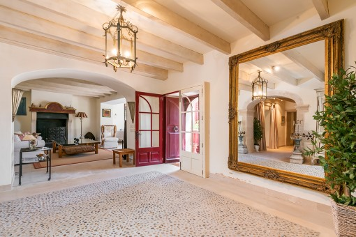 Schöner, authentischer Eingangsbereich