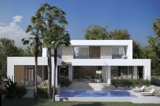 Fantastisches Neubauprojekt in Bestlage in Santa Ponsa im Südwesten Mallorcas