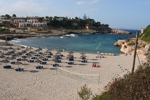 Ansicht der Bucht Cala Murada