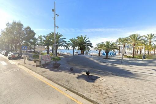 Komfortables möbliertes Apartment mit tollem Blick in erster Meereslinie von Port d'Alcúdia ab September 2021